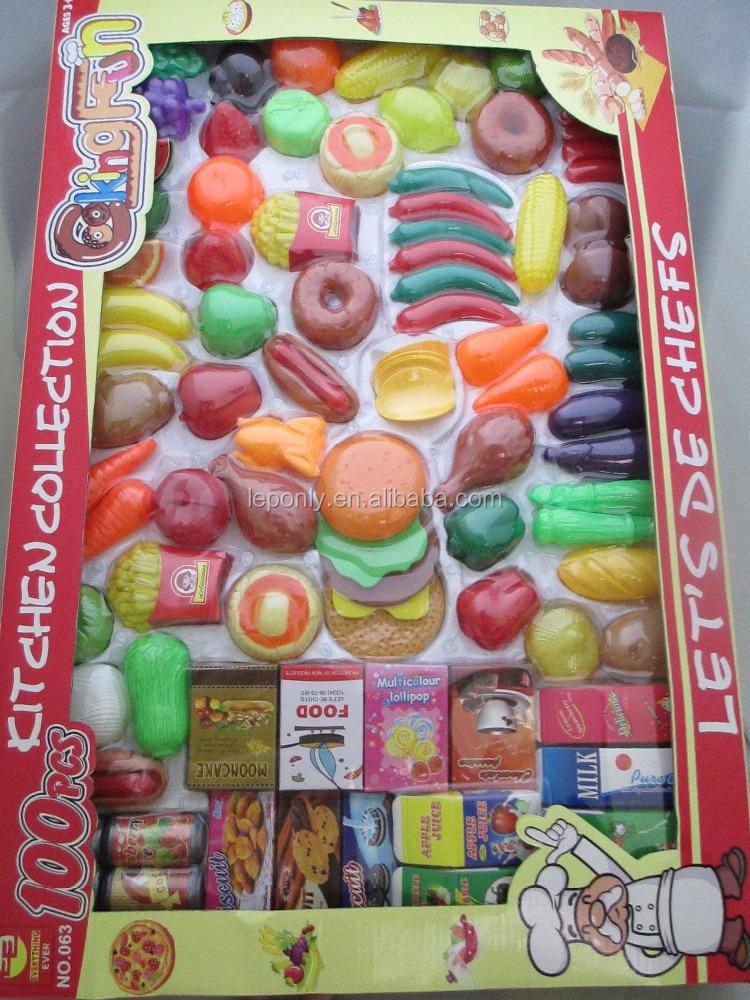 juego de cocina de plstico nios pretend juguete puesto de comida para nios juguetes juego de