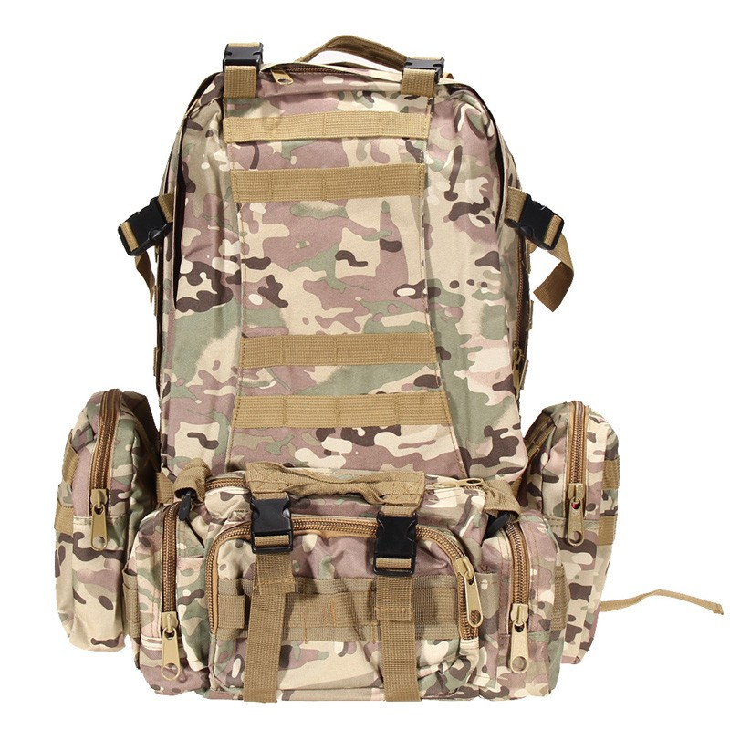 cb4146c15017 Hot Black Outdoor Military Tactical Backpack Rucksacks Sports Bag Camping  Hiking Bags BHU2