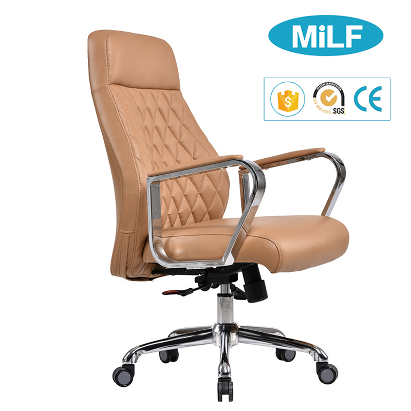 Plastic PP frame steel wheel living room message ergo office leather swivel reclining chair with leg rest