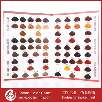 Pretty hair color chart for salon use hair dye color chart book pretty hair color chart for salon use hair dye color chart book urmus Images