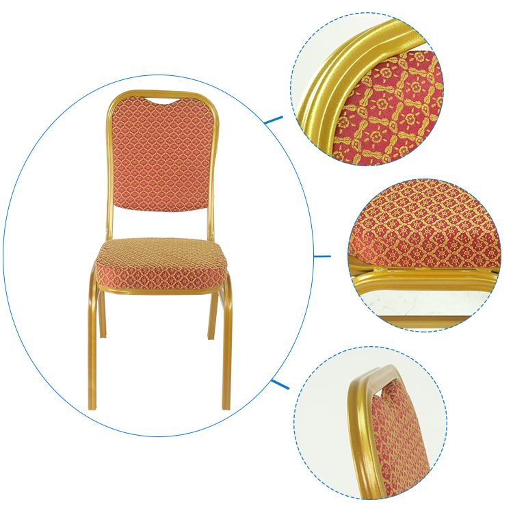 party use stackable fabric cover hotel room chair