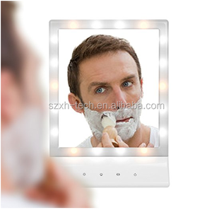 Lighting Vanity Makeup Mirror 18 LED Lights With Touch Screen On/Off hollywood mirror