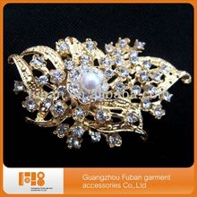 fashion make brooches and pins for dresses wedding bouquet wholesale