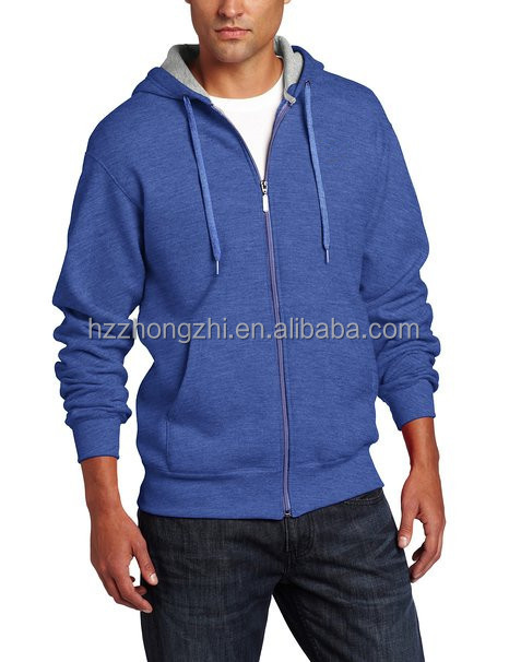 Men's zipper jacket eco-fleece hoodie