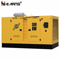 Water-cooled Industrial type electric generator 400kva price