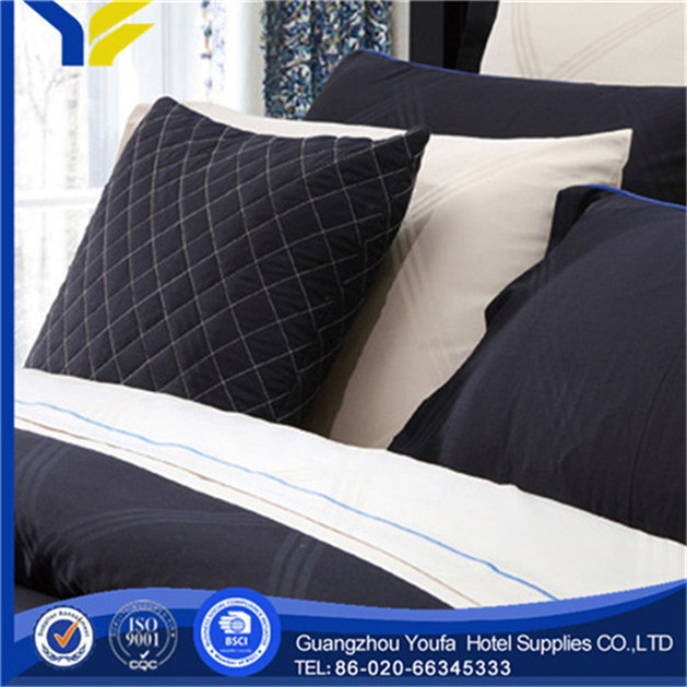 queen bed china wholesale 100% linen cheap and high quality bedding set