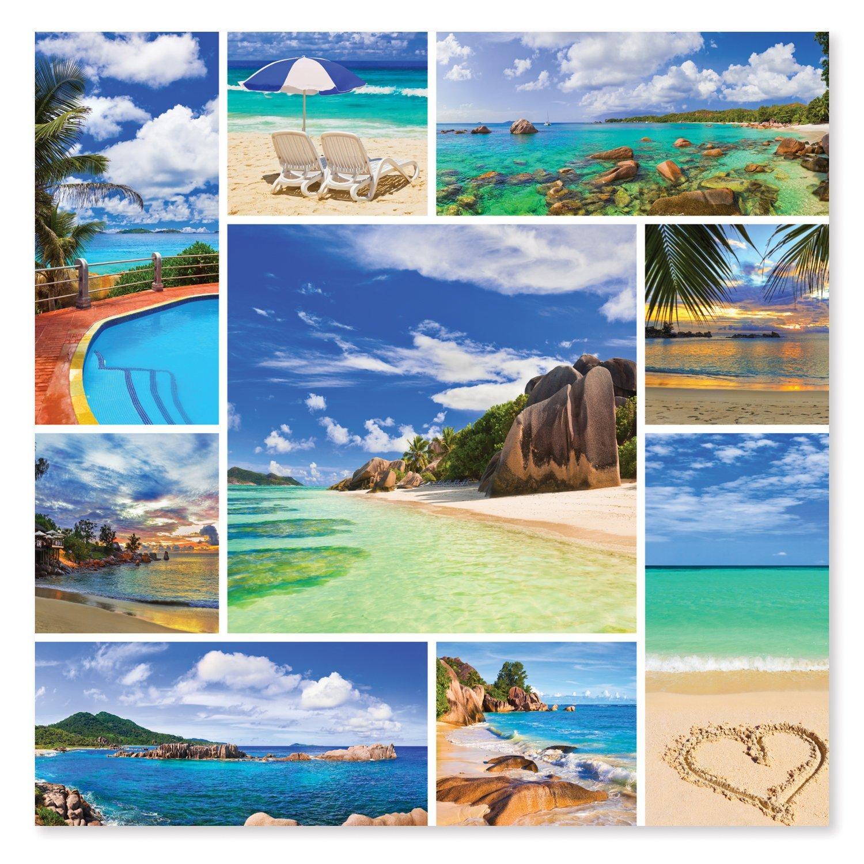 Melissa & Doug 1,000-Piece Photos From Paradise Tropical Beaches Jigsaw Puzzle (2 x 2 feet)
