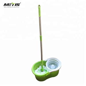 No.8313 Telescopic rod rotating dry floor cleaning spin easy mop