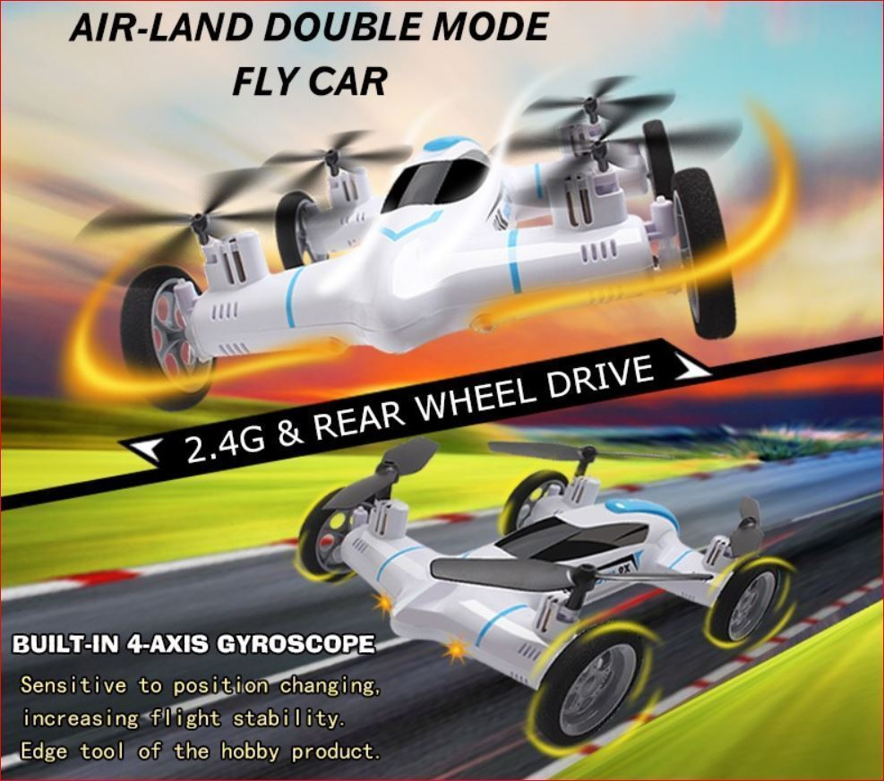 Syma X9 Air-Land Dual Mode RC Flying Car Drone Quadcopter
