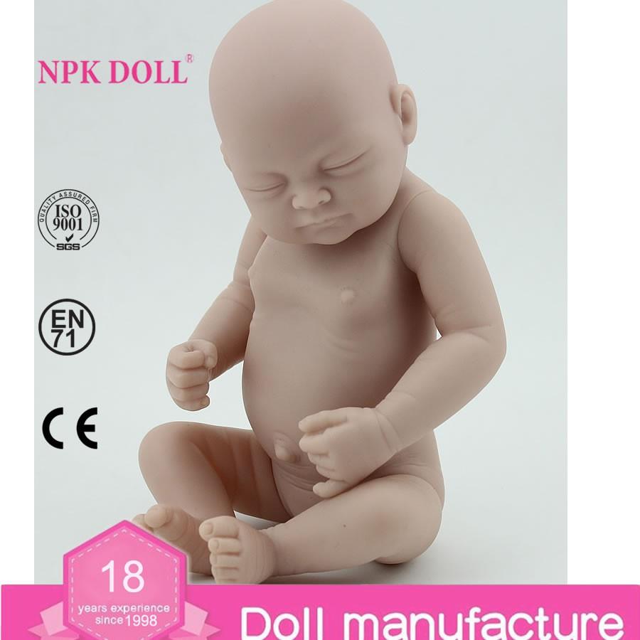 Silicone Reborn Doll Kits Bebe Reborn Doll Mold Boneca