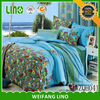 home design bed linen/hand embroidery bed sheet/baby cot crib bedding set