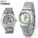 Wholesale Custom Design Geneva Luxury Mechanical Womens Automatic Watch