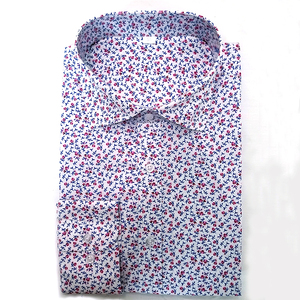 China supplier wholesale custom made cotton mens floral shirts