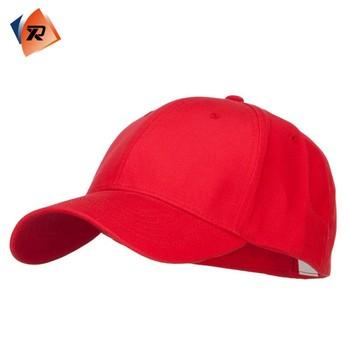 Terbaik Mode Dipasang Polos Murah Topi Bisbol Merah Untuk Pria - Buy ... 71710c1941