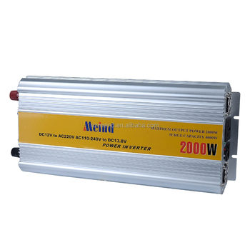 Hot sell Meind 2000W Modified Sine Wave Inverter With Battery charge