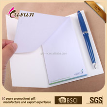 2015 promotional brand mini notepad with pen