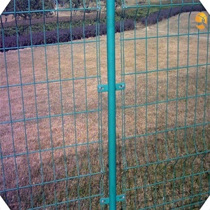 PVC coated welded wire mesh / Vinyl fence panels