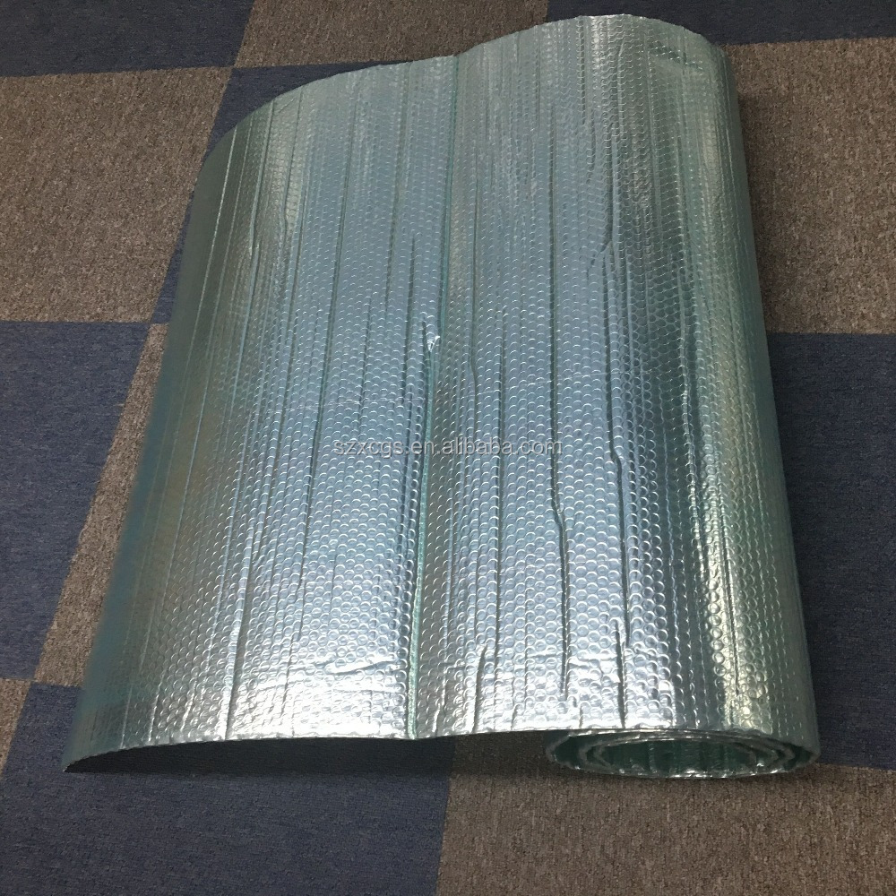 300GSM double-sided aluminum foil single bubble insulation 6mm thickness