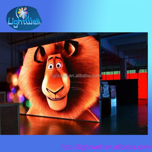 P10mm Fast Installation 1R1G1B Outdoor LED Video Sign