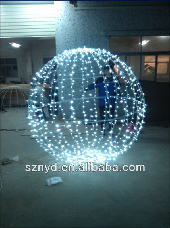Christmas ball lights outdoor home design ideas christmas ball outdoor decoration beautiful led ball lights for garden mozeypictures Image collections