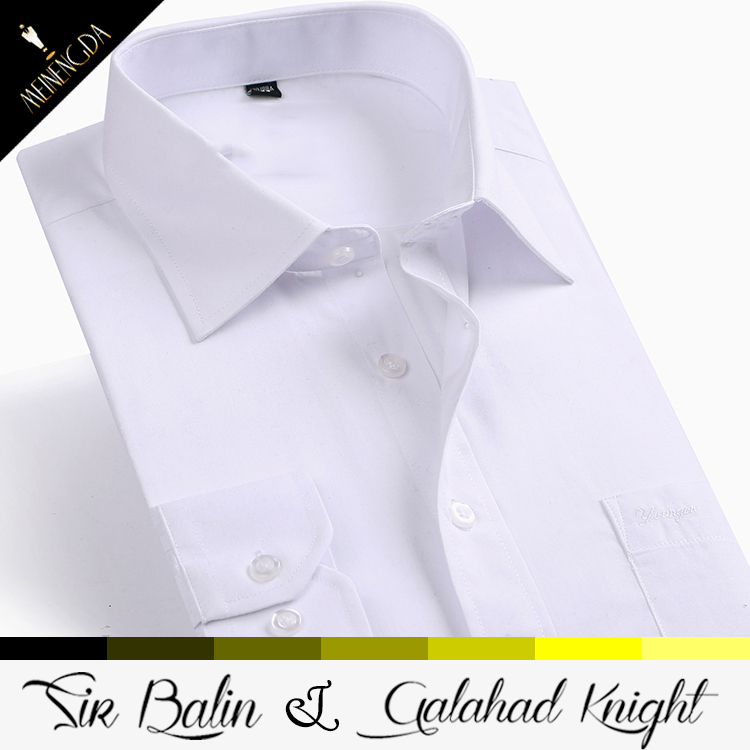 Different color collar dress shirts