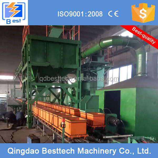 Pre-coated Sand Reclamation And Molding Line