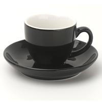 3.5oz Ceramic Porcelain Espresso Coffee Cups And Saucers Sets