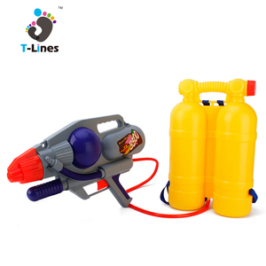 Super soaker toy backpack water gun with backpacks