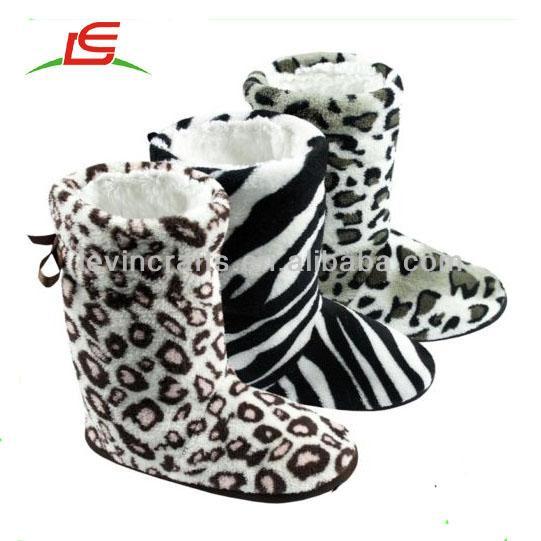 Le-d726 Ladies Womens Slipper Boots