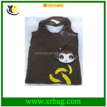Adorable Animal Monkey Shape Polyester Foldable Eco Reusable Fabric Shopping Bag