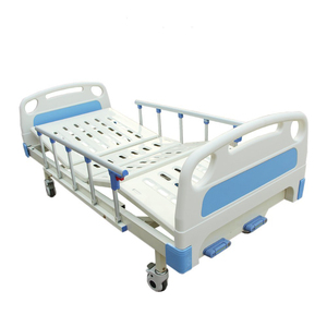 Latest design luxurious castor manual two functions medical hospital bed for wholesale