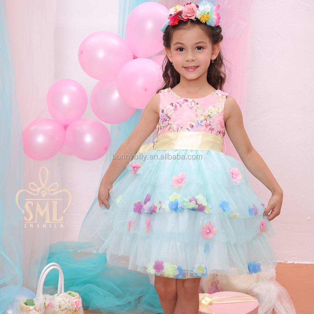Pink Puffy Dresses for Girls