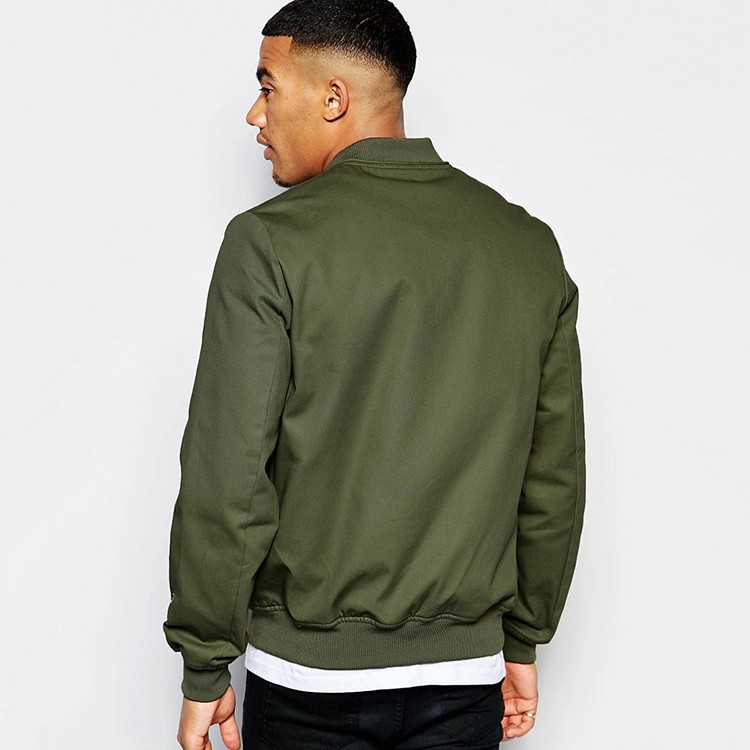 Mens Plain Bomber Jacket With Sleeve Zip - Buy Plain Bomber Jacket ...