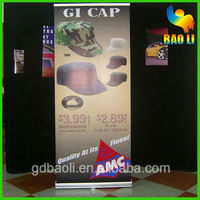 indoor display digital poster printing banner standee