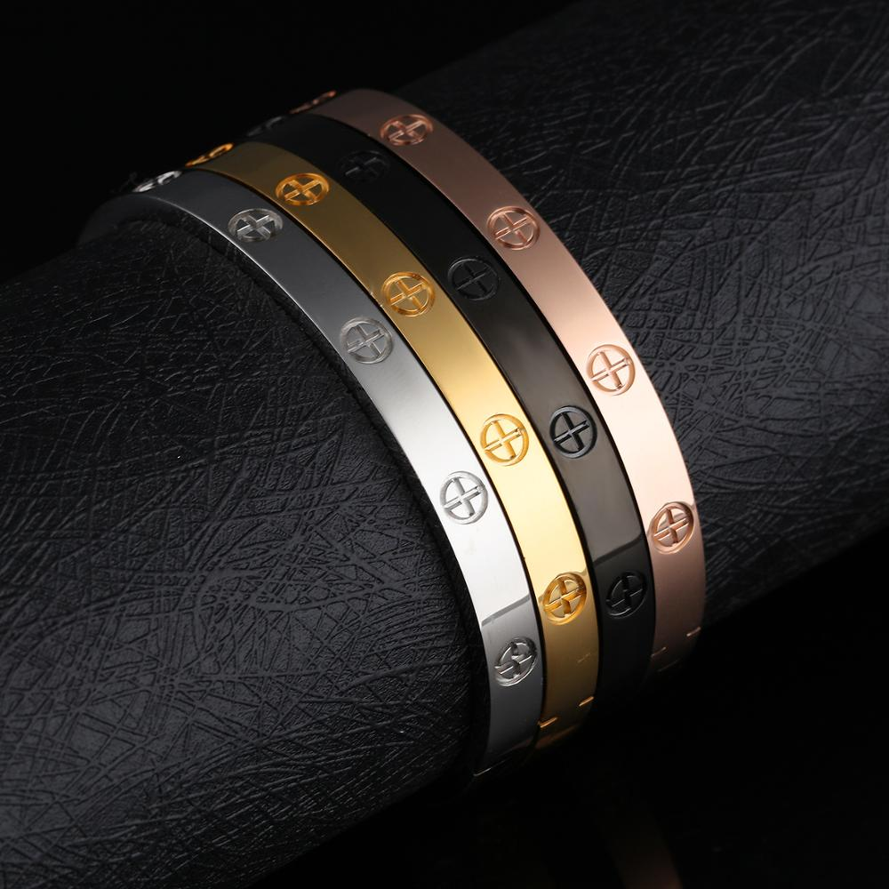 Wholesale Custom Women Stainless Steel Gold Jewellery Bangles Designs