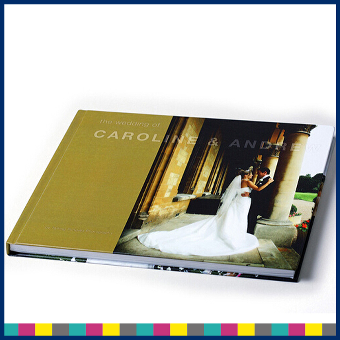 Beautiful colorful hard cover book printing