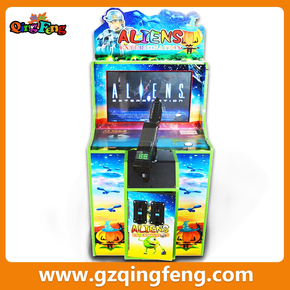 Qingfeng Children Game Equipment Shooting Arcade game machine Hunting Hero console games
