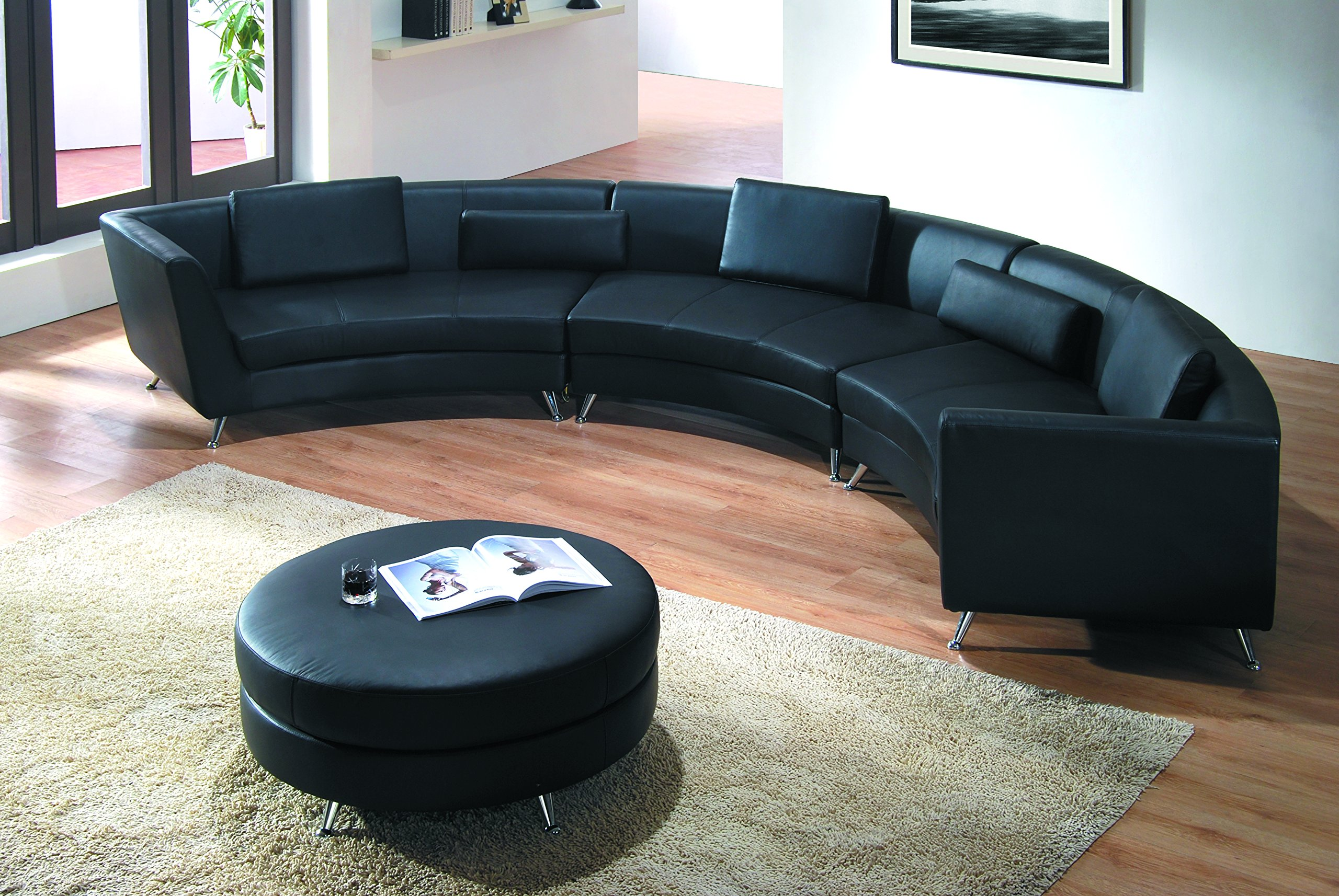 Buy Modern Line Furniture 8004B-G5 Contemporary Leather ...