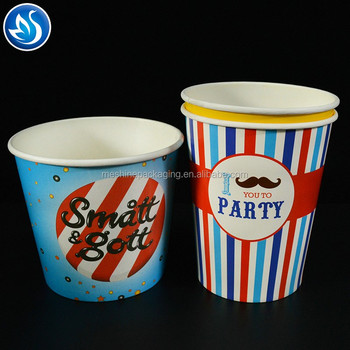 Good quality paper popcorn packaging,popcorn packing box