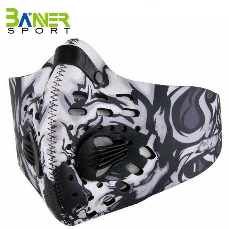 Anti Staub Ausbildung Maske Masken Halbe Gesicht Carbon Berg Fahrrad Sport Straße Masken Gesicht Abdeckung Masken