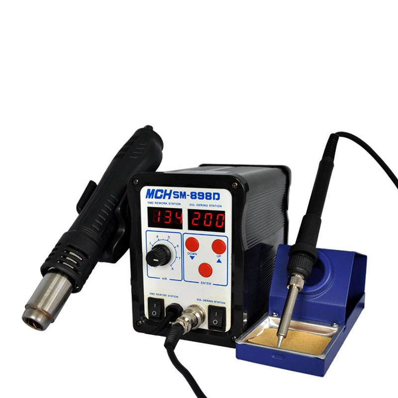 high quality low price for hot air mini 2 in 1 soldering staion 220v 700w desoldering iron. Black Bedroom Furniture Sets. Home Design Ideas