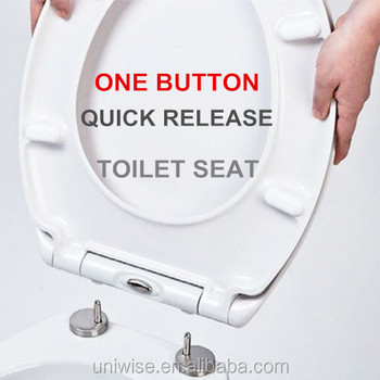 self closing toilet seat lid. WC toilet seat cover universal shape soft closing with one button quick  realease Wc Toilet Seat Cover Universal Shape Soft Closing With One Button