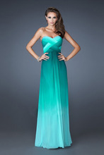 Dlouhé večerní šaty bez ramínek s odhalenými zády z Aliexpress