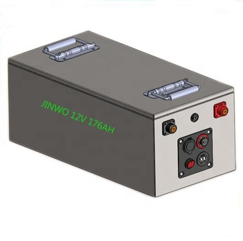 12V 176Ah / 180Ah LiFePO4 Lithium Battery for RV & Boat House Systems with Voltage display , USB charge