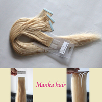 Top quality double sided tape synthetic hair extension