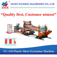 New YC110-800 Plastic Sheet Extrusion / Extruder Machine