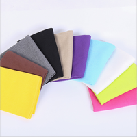 95/5cotton/spandex dyed 2x2 hair eroded Rib stretch knitted fabric for trim collar cuff waistband china supplier wholesale