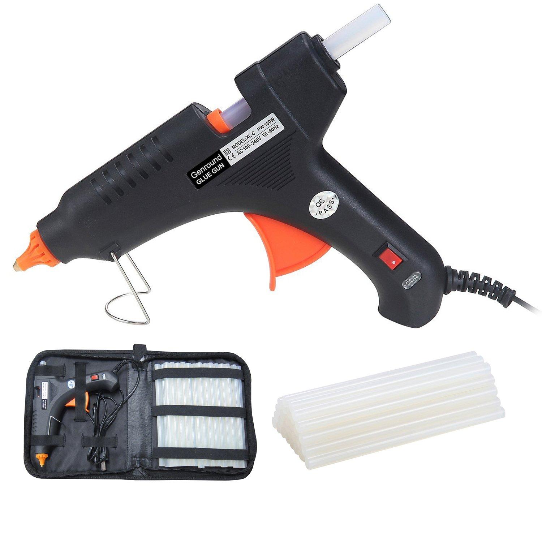 Hot glue gun wax milwaukee m18 battery case