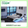 Simple design wooden queen day beds with LED for sale