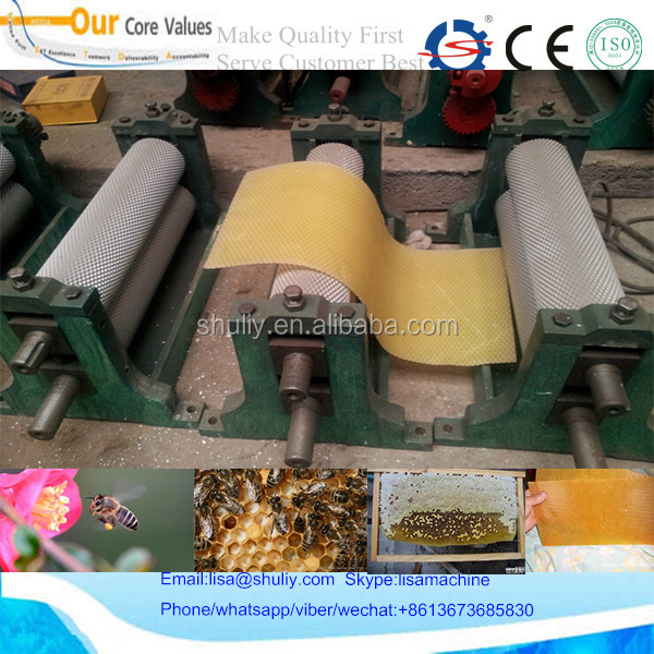 bee comb foundation machine / Beeswax Foundation mill machine 008613673685830